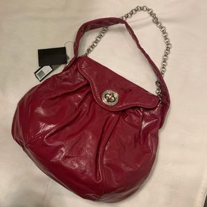 Marc Jacobs kiss turn lock Patent Leather Bag NWT